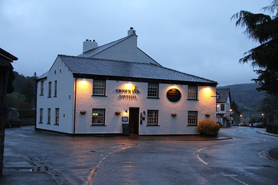Crown Inn, Coniston.  Never made it here....