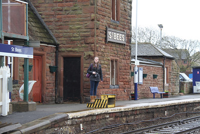 St Bees station - quality boarding device