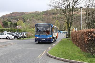 20459 arrives at Hawkshead