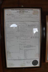 Builders certificate