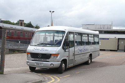 Shiel Buses YN06PCY at Fort William