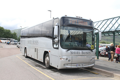 Shiel Buses HSK735 at Fort William