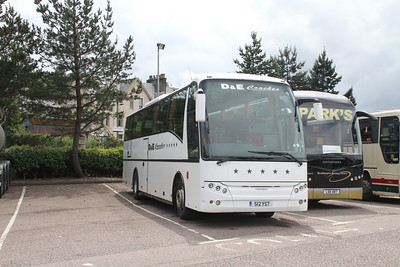 D&E Coaches S12YST at Fort William