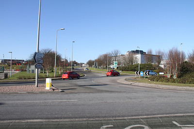 Parkway Roundabout looking towards A90 Parkway