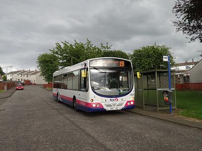 69281 at Castlehill - over a minute ahead already....