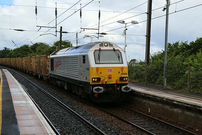 67026 Oxwellmains Bins pass Longniddry