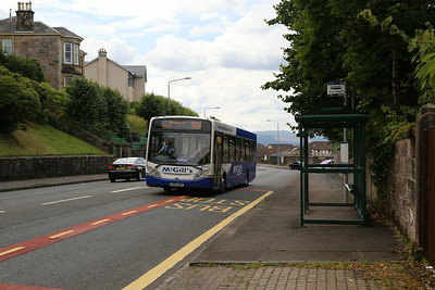 G8473 passes the bus stop serving the development site, hence the 'reverse angle' shot