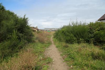 Towards Burghead
