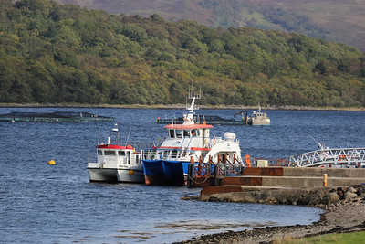 Lady Iona at Rhugh Garbh jetty, just off the A828 north of Benderloch