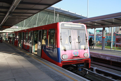 DLR from City to Stratford International