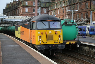 56113 runs round at Ayr