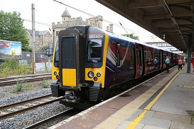350404 at Lancaster, having had a 'moment' after leaving Carlisle which thankfully was rectified swiftly!