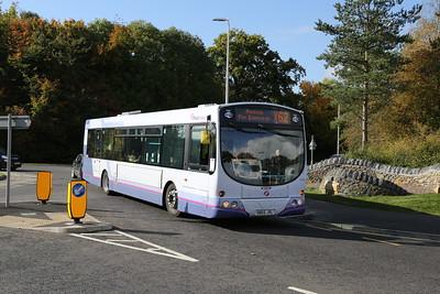65746 is northbound (sort of) for Edinburgh via Peebles