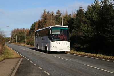 S10YST heads back for Inverness at Croy having completed her school duties