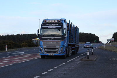 A96 at the Ardersier/Fort George junction