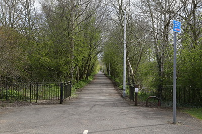 Gateside Road looking to Haddington