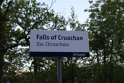 Falls of Cruachan - another new shack call