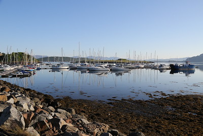 Dunstaffnage Marina - this pic is on BBC News in Pictures