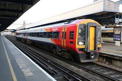 158884 at Southampton Central