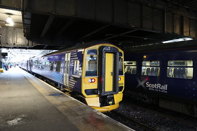 158869 was bearable on the 0757 Shotts Express