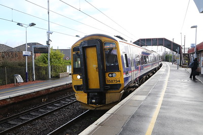0757 from Edinburgh calls Bellshill