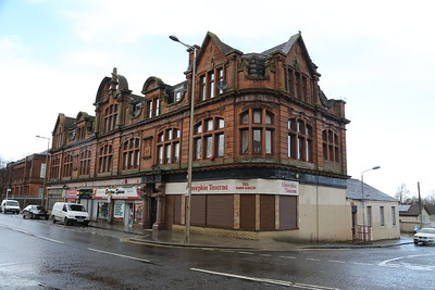 The old Bellshill and Motherwell Co-op building in Bellshill.   Need to go back as there is a mark on the photo.  Boo.