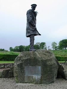 David Stirling monument between Keir roundabout and Doune