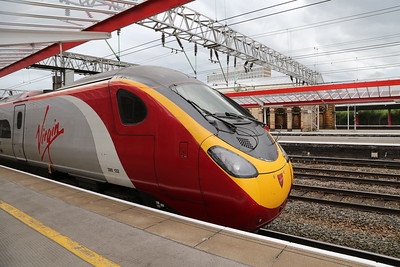 390132 has been the 1252 from Edinburgh as far as Crewe