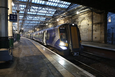 380020 and 380113 will form 1R25 0830 to Queen Street via Falkirk High