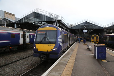 170415 is my chariot back - 1447 Glasgow which is 1T99