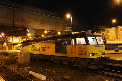 60087 had apparently chucked it on the Inverness cement and was running back light