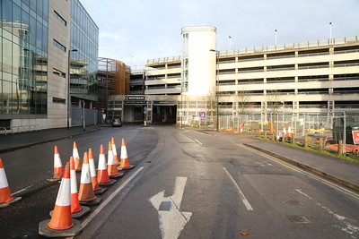 Moxy Southampton access junction
