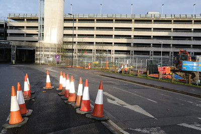 Moxy Southampton access junction arrangements