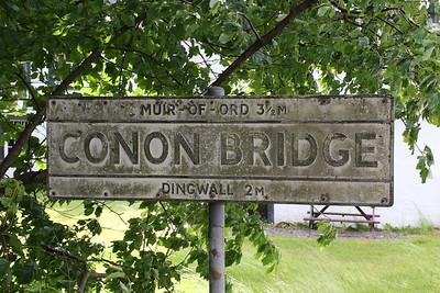 Cracking sign in Conon Bridge!