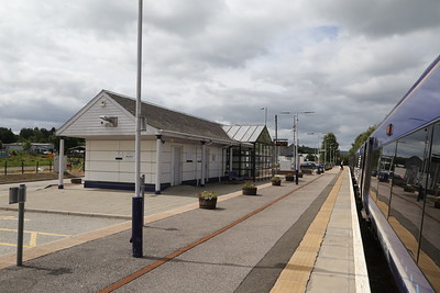 """Keith """"new' station building"""
