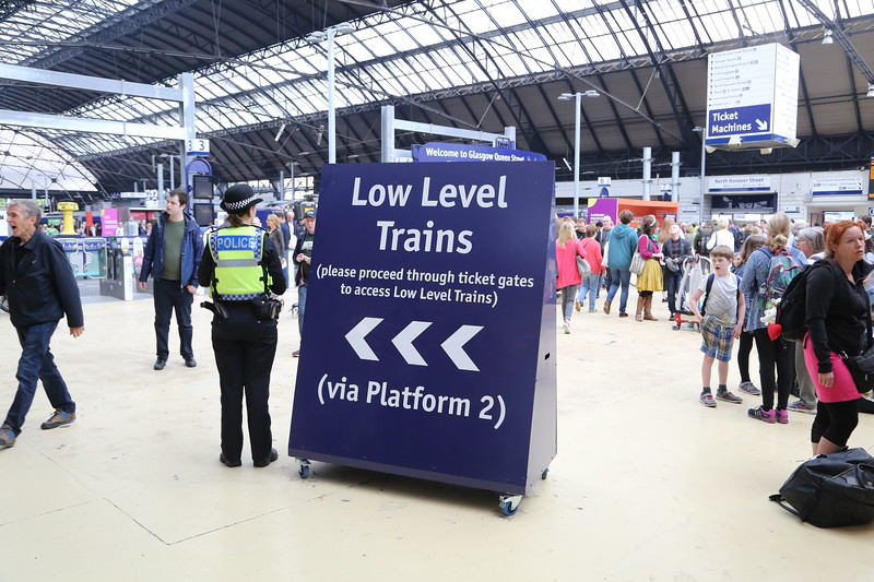 Maybe a bigger sign next time?   Clearly valuable - it has a BTP guard....