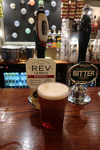 The Rev James Original at 33 Windsor Place Cardiff