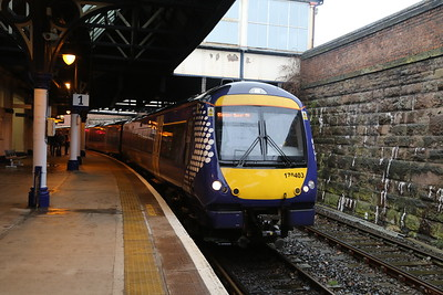 170403 with a Glasgow service
