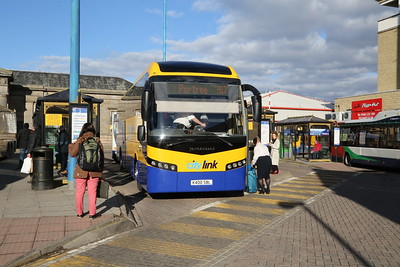 Shiel Buses K400SBL (SD14 YDG) new for the service