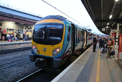 185149 has brought us from Manchester to York, arriving 27 minutes late so no refund.