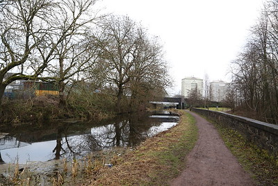 Monkland Canal looking east to Coatbridge