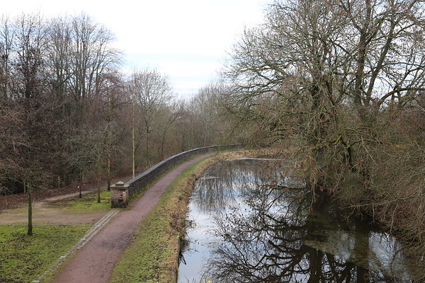 Monkland Canal looking west to Bargeddie