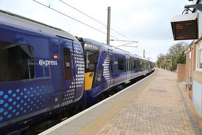 385024 and IIRC 385003 at Dunbar