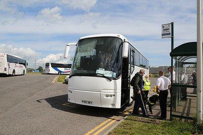 PX07 BEY was my transport from Inverurie to Dyce