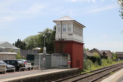 Dyce signalbox no more