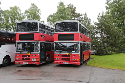 P4YST and P6YST of D&E Coaches in Carrbridge