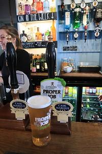 St Austell Brewery Proper Job Cornish IPA 4.5% at the Seven Stars, Kingsbridge