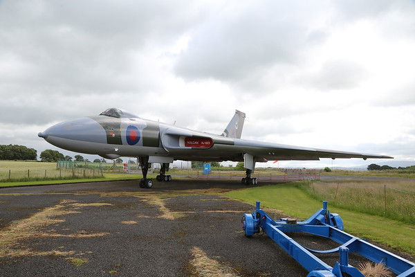 Vulcan XJ823 at The Solway Aviation Museum