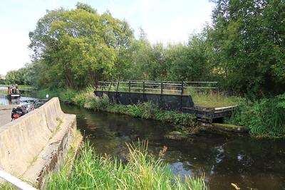 Reddingmuirhead - former swing bridge providing access to the Nobels factory