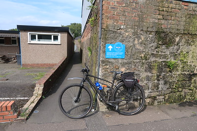 I would have cycled past this route had a local chap not pointed it out.